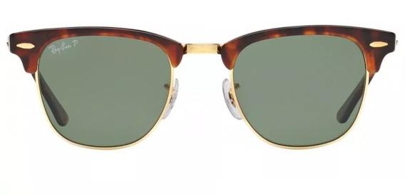 Óculos Ray Ban Clubmaster Havana Tartaruga Original G-15