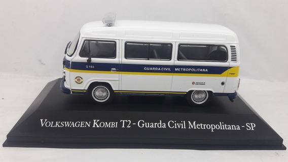 Miniatura Kombi T2 G.c.m São Paulo Veiculos Serviços 1/43