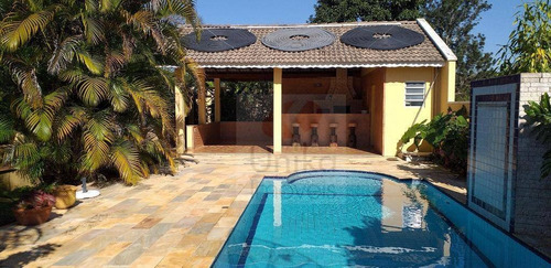 Chácara Com 4 Dormitórios À Venda, 1000 M² Por R$ 750.000,00 - Recanto Das Estrelas - Itatiba/sp - Ch0206