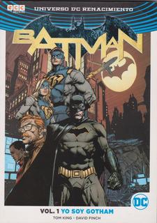 Comic Batman Vol 1 Y Soy Gotham Universo De Renacimiento
