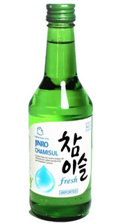 Soju Jinro Fresh 360 Ml Importado Corea Alcohol
