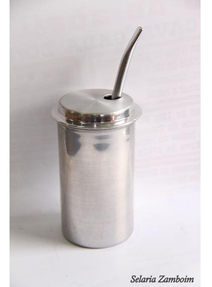 Copo Terere Alumínio 12cm Und