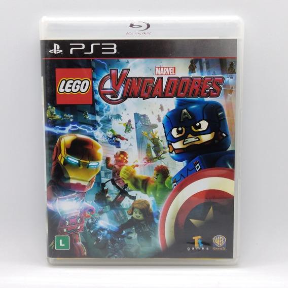 Lego Marvel Vingadores Avengers Ps3 Midia Fisica Portugues