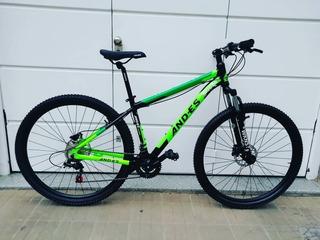 Bicicleta Mtb Andes Rod 29 Disco Hidraulico 24 Vel