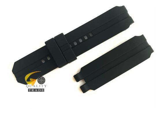 Pulseira Oakley Uhr Stealth Gearbox Preta Sem Fivela Nova