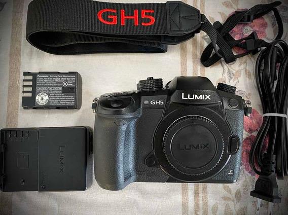 Câmera Panasonic Gh5 Com Vlog