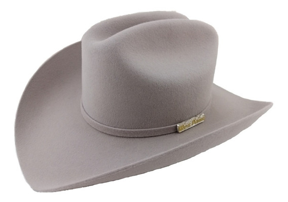 Sombrero Texana 6 X Marca West Point Mist Grey (gris) Lana