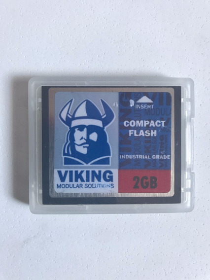 Compact Flash Viking Cf Card 2g Industrial Grade