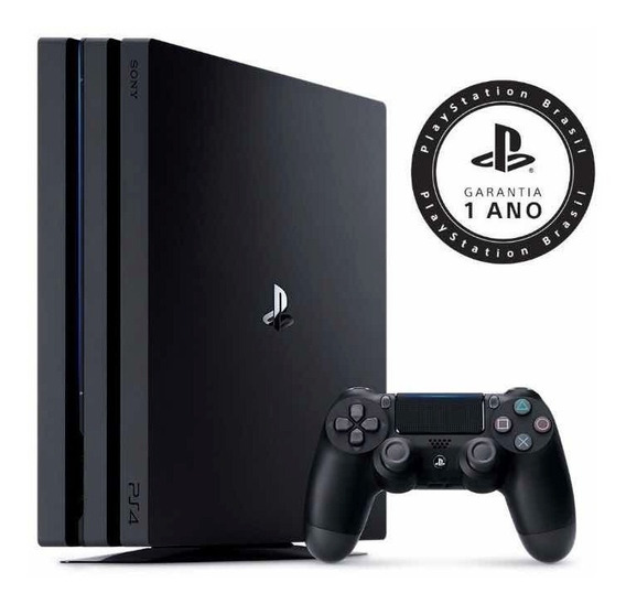 Console Ps4 Playstation 4 Pro 4k 1tb 7215b Sony Novo Lacrado