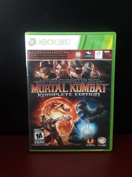 Mortal Kombat Komplete Edition Xbox 360 Original