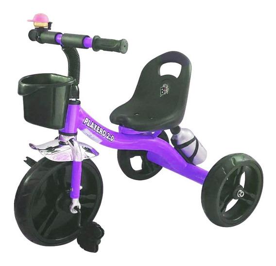 Triciclo Infantil Reforzado Tipo Playero Bike
