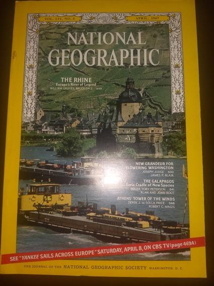 Revista National Geografhic Americana Abril De 67