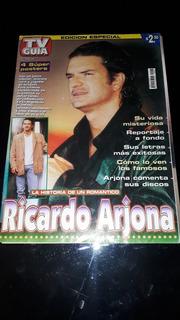 Ricardo Arjona Tv Guía Especial 4 Pósters Biografía Fotos