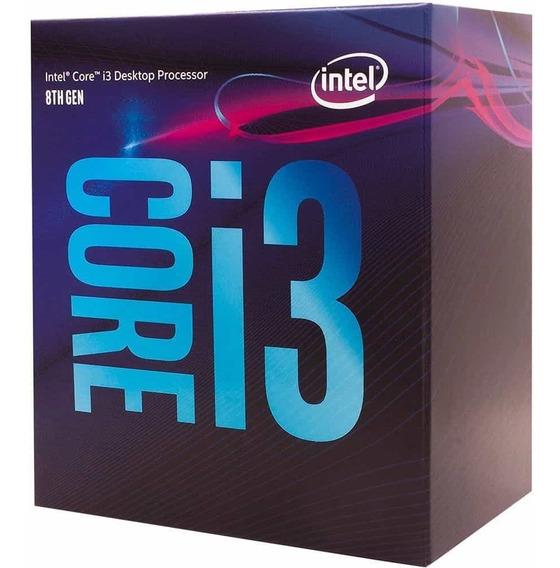 Processador Intel I3 8100 Coffee Lake 8g 6mb 3.6ghz 1151