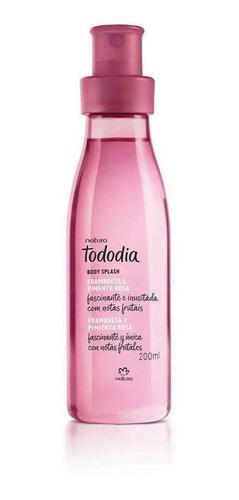 Splash Frambuesa Y Pimienta Rosa Tododi - mL a $132