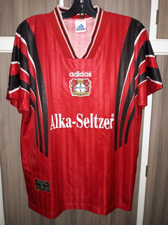 Camisa Do Bayer Leverkusen 1996 (adidas) Tamanho G