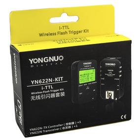 Rádio Flash Yongnuo - Yn622n Tx - Kit Ittl - Yn 622 Nikon