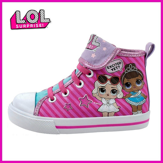 Tenis Lol Doll Surprise Estilo Converse Originales