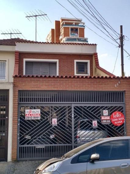Sobrado Com 3 Dormitórios Para Alugar, 161 M² Por R$ 3.900/mês - Tatuapé - São Paulo/sp - So0032