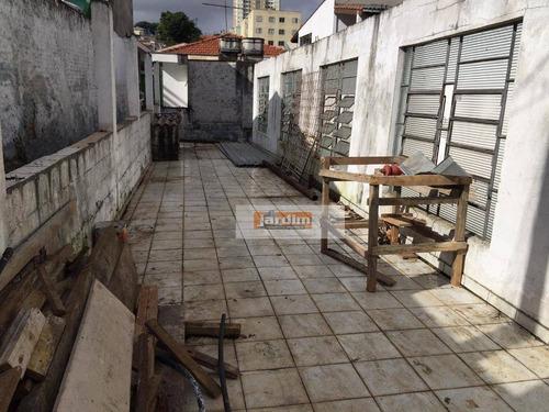 Terreno Residencial À Venda, Paulicéia, São Bernardo Do Campo. - Te0708
