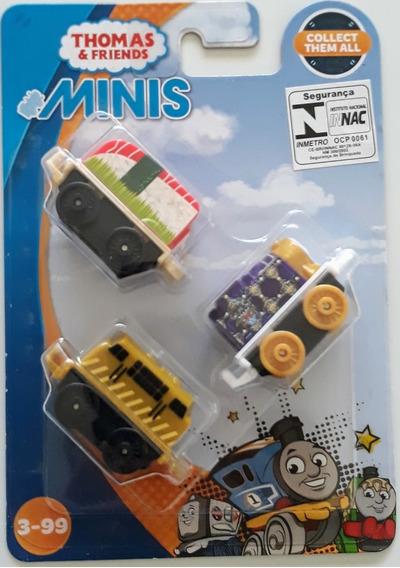 Fisher Price- Thomas & Friends Minis - Belle/diesel10/bertie