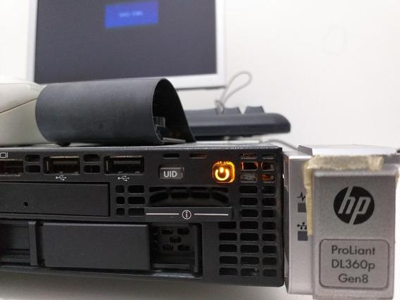 Servidor Hp G8 Dl380p 48gb 1 Riser Xeon E5-2650 2.0ghz Octac