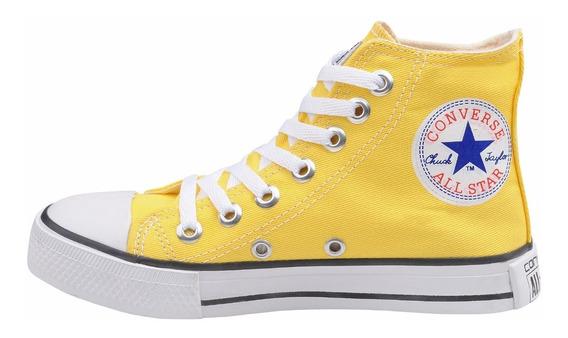 Tênis All Star Chuck Taylor Ct Cano Alto Amarelo
