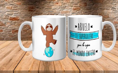 Imagen 1 de 5 de Taza Para Abuelos!!