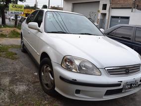 Honda Civic 1.6 Ex 2000 4 Puertas Con Gnc 60257836