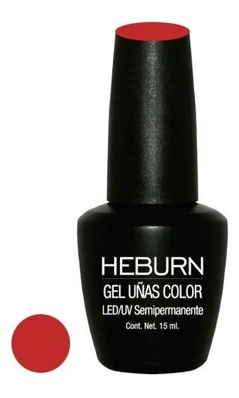 Esmalte Semipermanente Heburn Color Gel Led/uv 15ml
