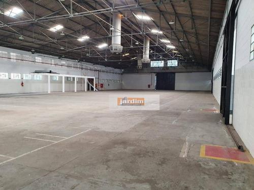 Galpão Para Alugar, 2809 M² - Jardim Vera Cruz - São Bernardo Do Campo/sp - Ga0269