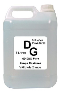 Limpa Placa Substitui Álcool Isopropílico 5 Litros 99,94% Puro Limpa Circuitos Limpa Cilindro De Imagem