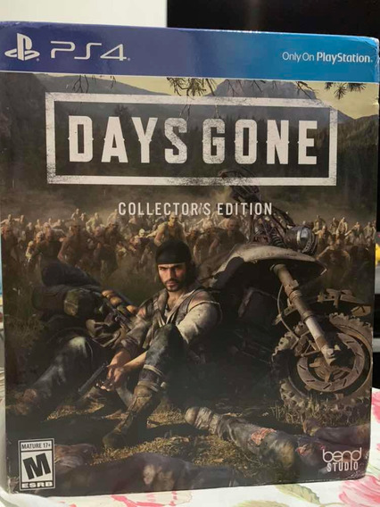 Days Gone Collectors Edition Pronta Entrega