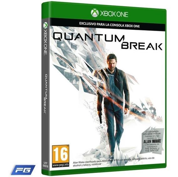 Quantum Break Mídia Física Jogo Xbox One + Alan Wake