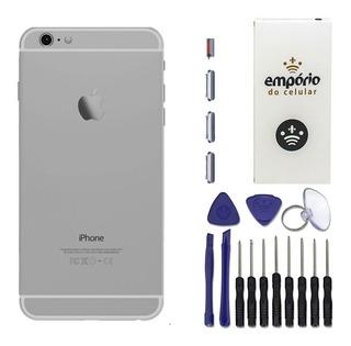 Carcaça Aro Chassi Tampa Traseira iPhone 6 4.7 Original