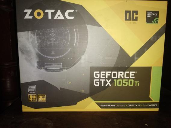 Gtx 1050 Ti Zotac Oc 4gb 2 Fan Excelente Estado Poco Uso