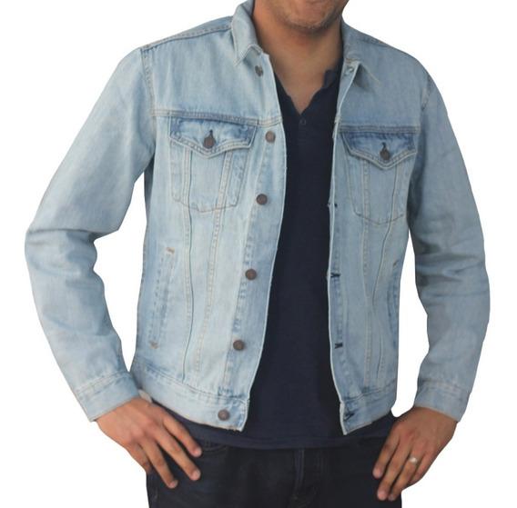 Chamarra Hombre Mezclilla Caballero Denim Azul 443311 Gap
