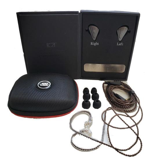 In Ear Kz Zsx - 12 Drives Hibrido + Estojo - Original