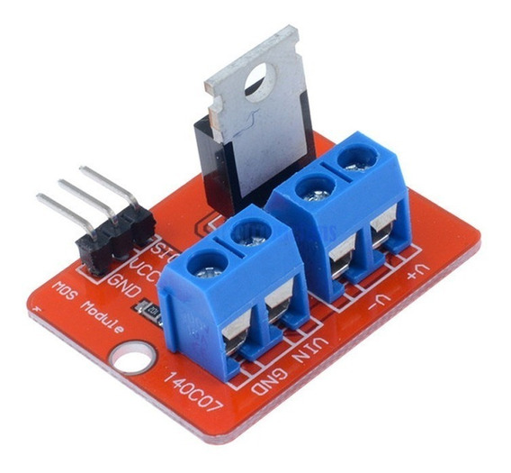 Modulo Driver Mosfet Irf520 24v 9a Arduino Nubbeo