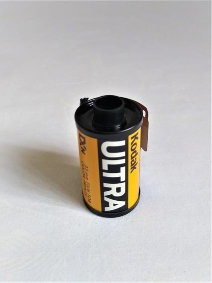 Rollo Fotográfico Kodak Ultra 35mm Antiguo 24 Fotos