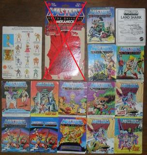 He Man Vintage 80 Motu Librito Mini Comic Carton Instruccion