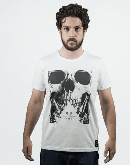 Camiseta Skull Branca