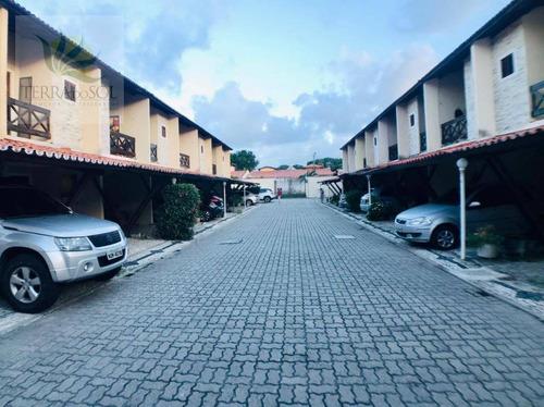 Casa Duplex Em Condomínio Com 2 Suítes No Cambeba - Ap0838