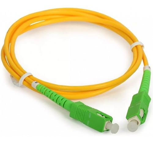 Cable Fibra Óptica Internet Patchcord Router Antel 10m Tecno