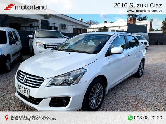 Suzuki Ciaz Glx 2016. Permuto/financio