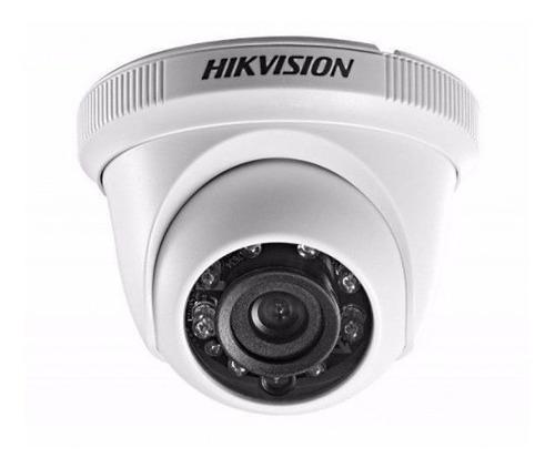 Cámara Hikvision Domo 2mp  Tvi/cvi/cbvs/ahd Ip66