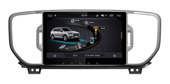 Central Multimidia Sportage 2017 10p S170 Android