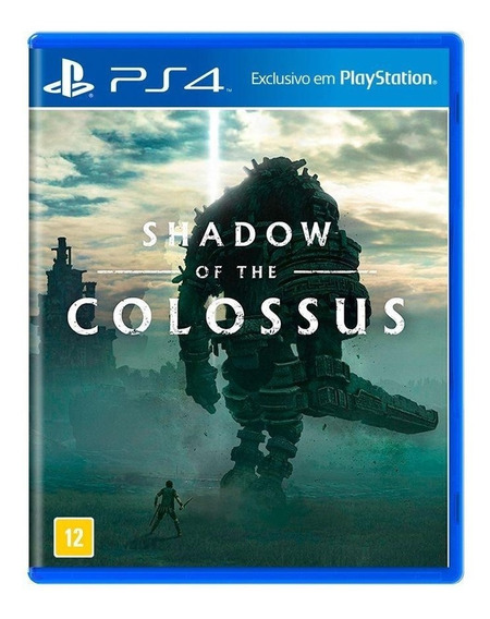 Shadow Of The Colossus Ps4 Mídia Física Novo Lacrado