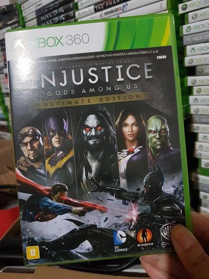 Injustice Gods Among Us Original Xbox 360