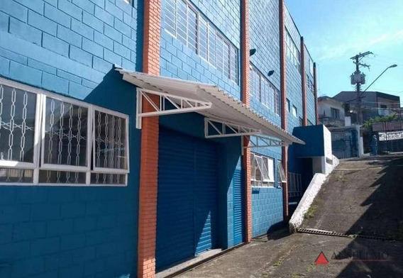 Galpão, 976 M² - Venda Por R$ 2.650.000,00 Ou Aluguel Por R$ 12.000,00/mês - Planalto - São Bernardo Do Campo/sp - Ga0292